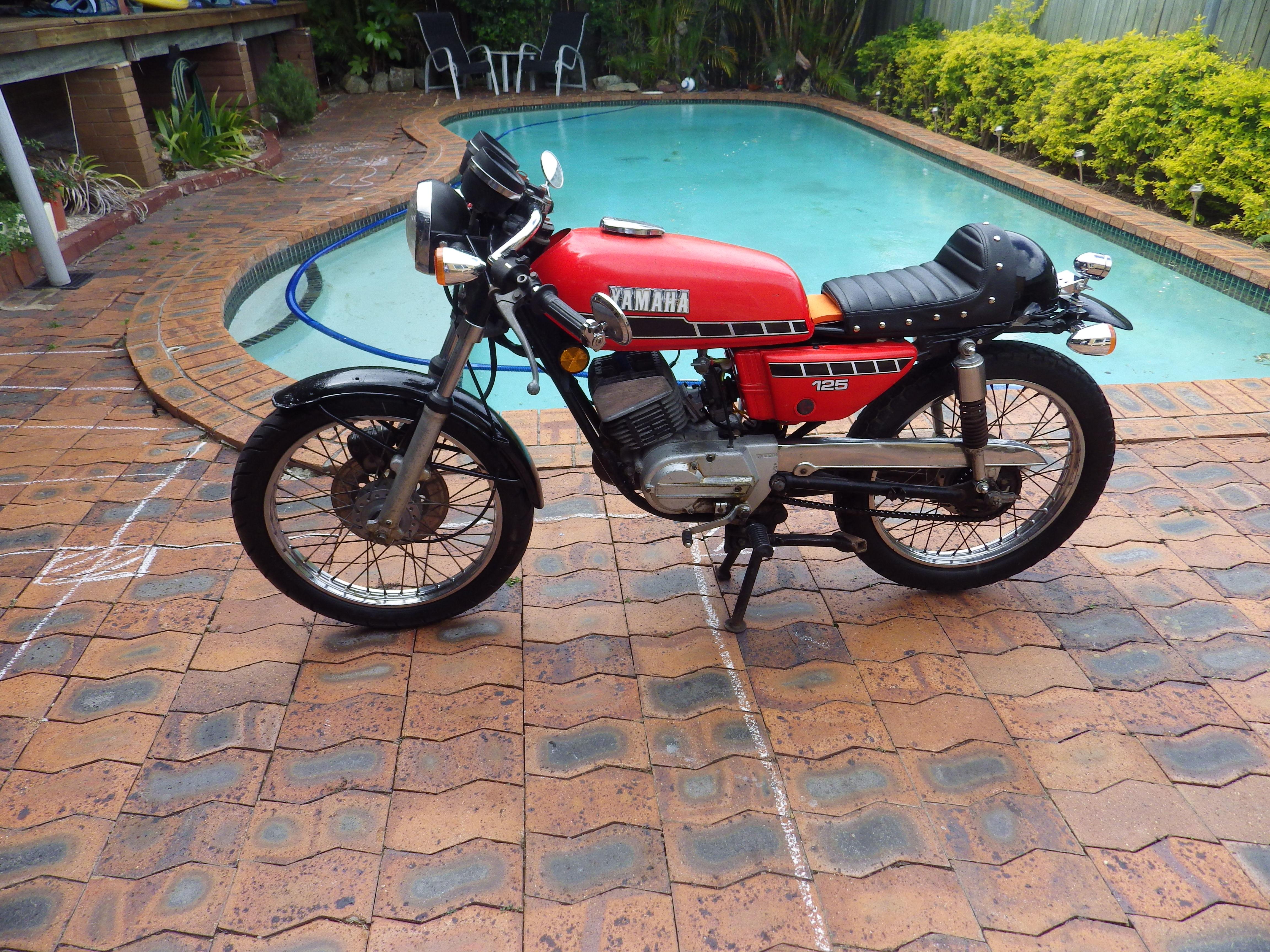 1978 yamaha rx125 bike sales qld gold coast 2905775
