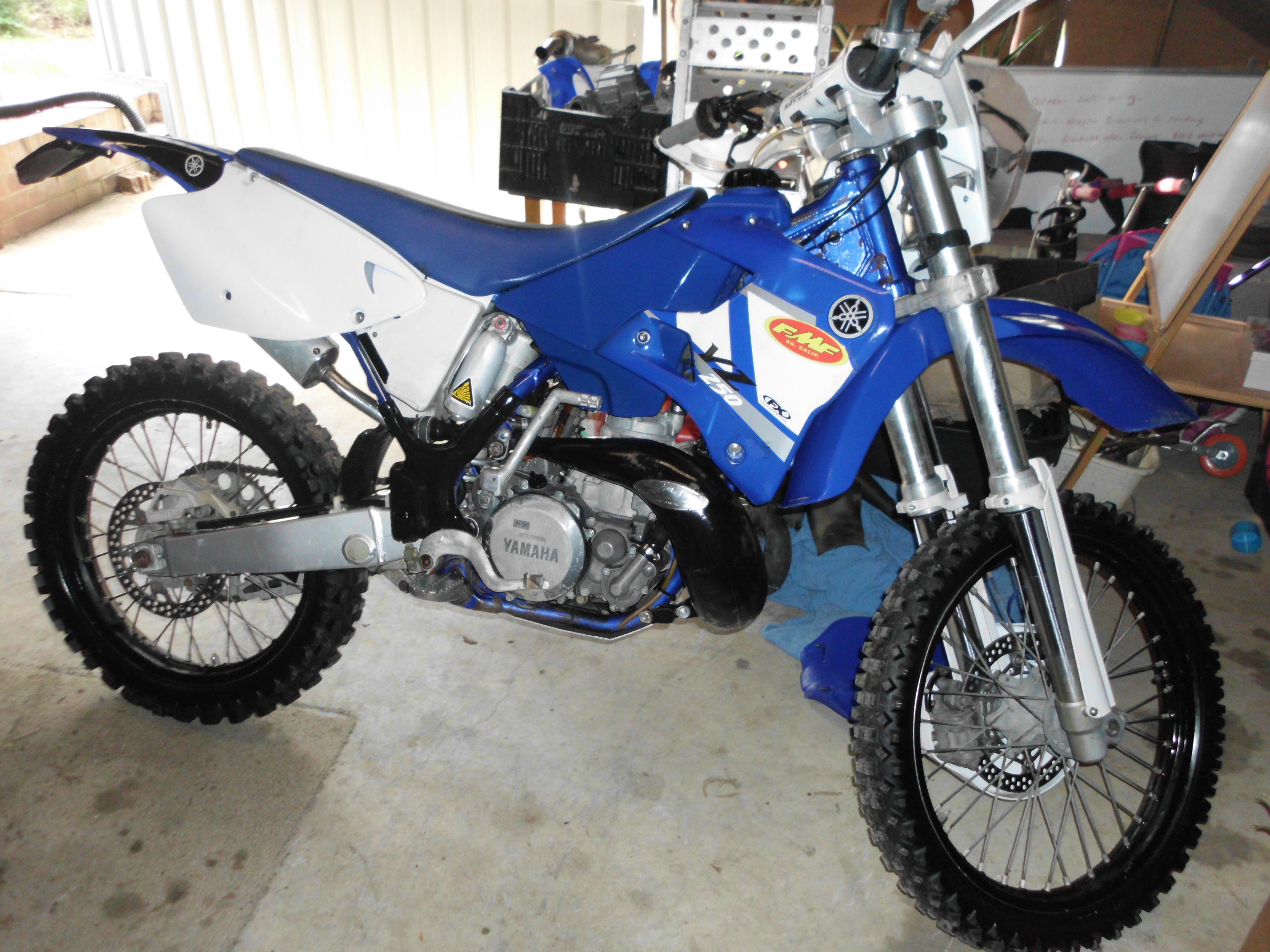 2001 Yamaha Yz250