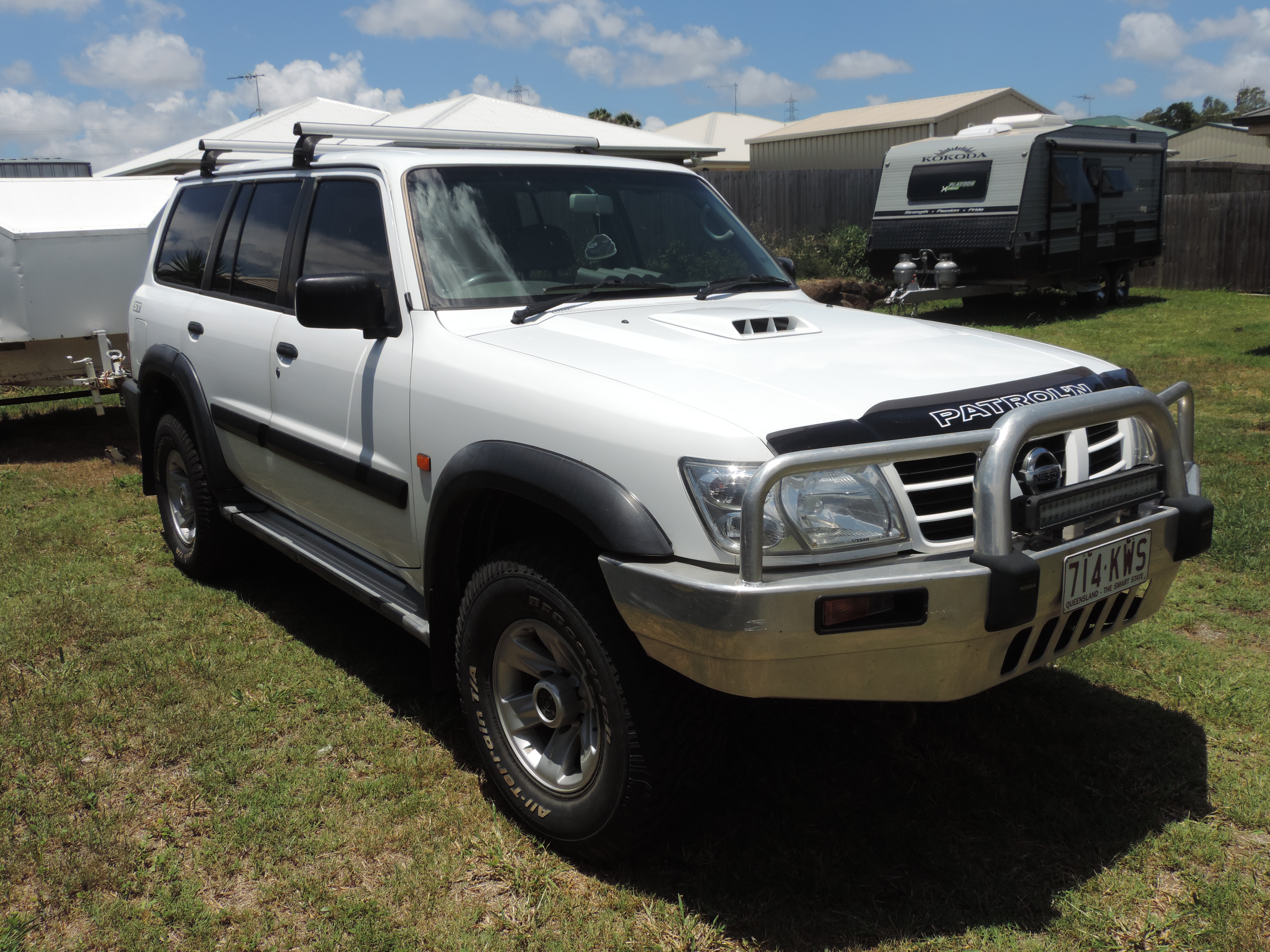 2003 nissan patrol st 4x4 gu iii car sales qld gladstone 2600602. Black Bedroom Furniture Sets. Home Design Ideas