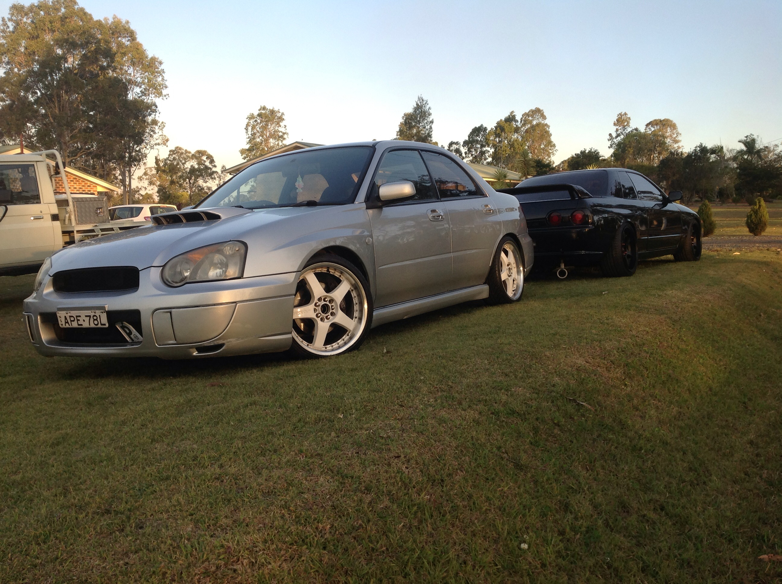 2003 Subaru Impreza Rs Awd My03 Car Sales Nsw Mid