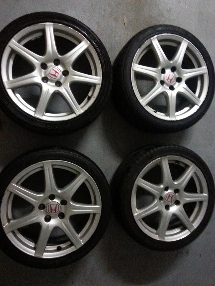 honda civic type r fn2 18 stock rims wheels for sale 2342108. Black Bedroom Furniture Sets. Home Design Ideas